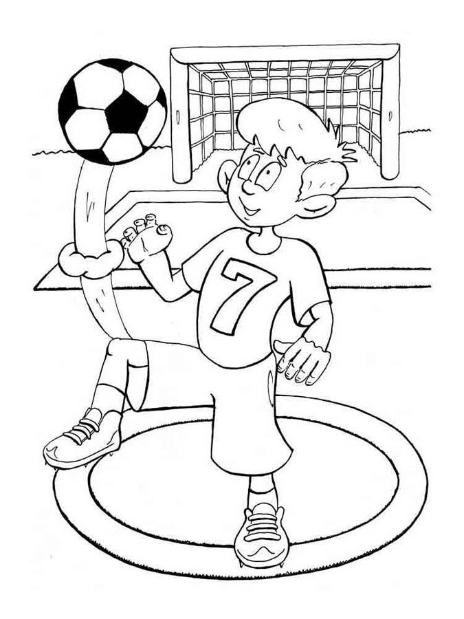 Красивые и прикольные картинки про футбол для срисовки - сборка 16