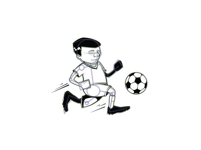 Красивые и прикольные картинки про футбол для срисовки - сборка 17