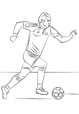 Красивые и прикольные картинки про футбол для срисовки - сборка 2