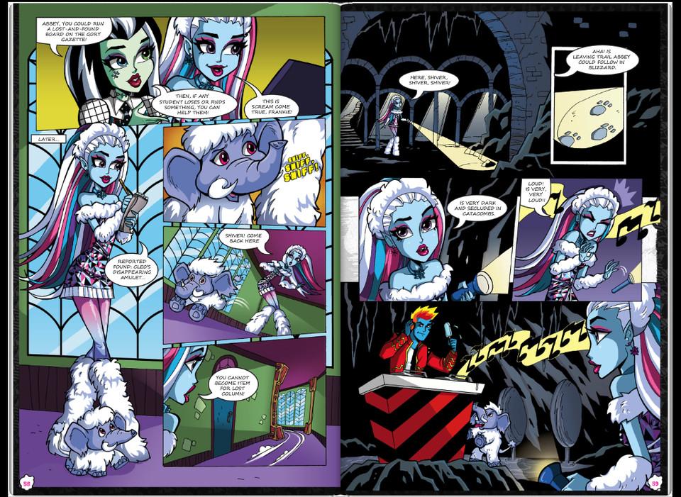 Красивые и прикольные комиксы про Школа монстров Monster High 11