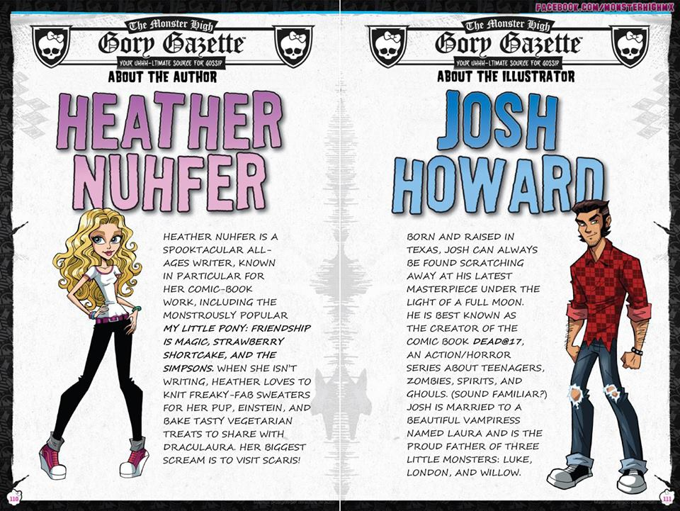 Красивые и прикольные комиксы про Школа монстров Monster High 13