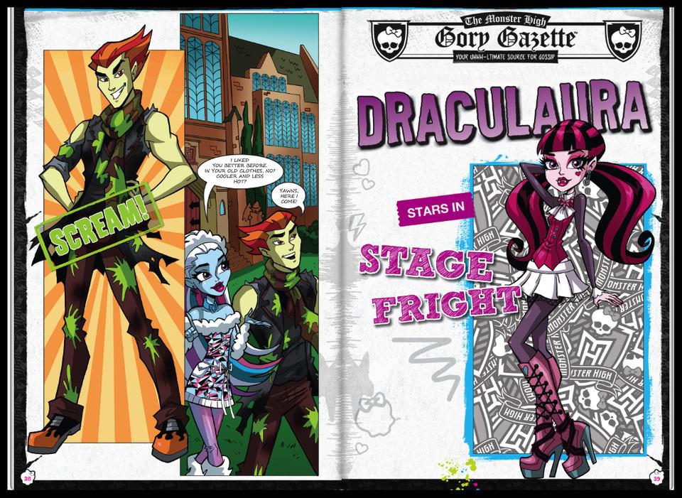 Красивые и прикольные комиксы про Школа монстров Monster High 9