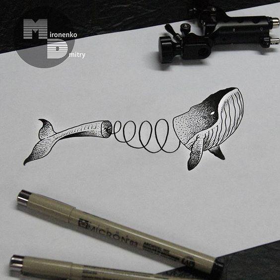 Красивые и прикольные морские картинки для срисовки - подборка 7