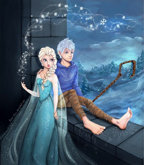 Красивые картинки Эльза и Анна из Холодного Сердца - подборка 10