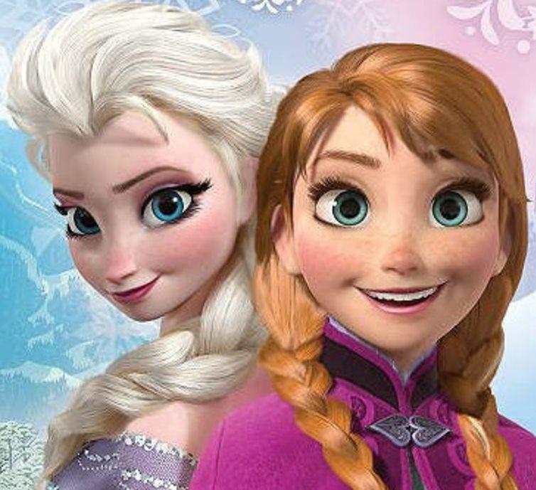 Красивые картинки Эльза и Анна из Холодного Сердца - подборка 11