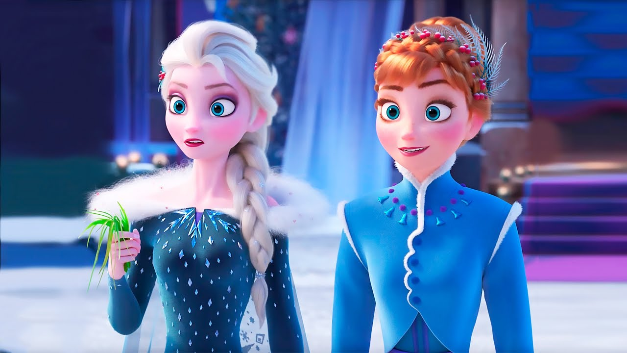 Красивые картинки Эльза и Анна из Холодного Сердца - подборка 6