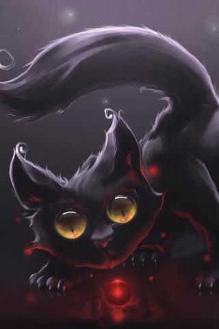 Красивые картинки котиков и кошек на заставку телефона - подборка 12