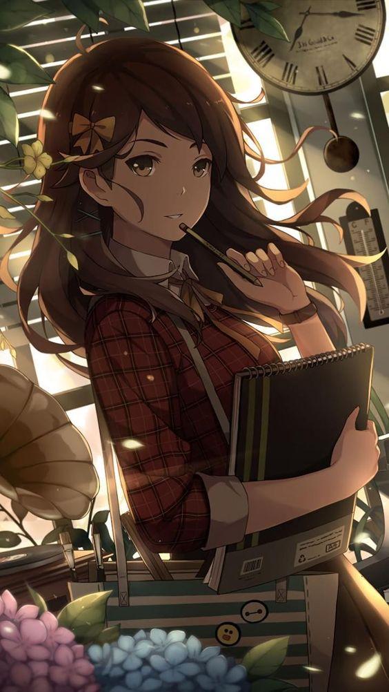 Крутые аниме картинки на аву для девушек и девочек - лучшая подборка 10