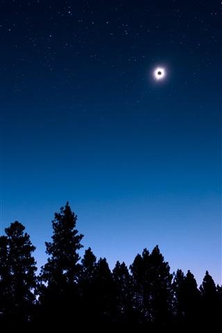 Невероятные и необычные картинки, фото луны на телефон на заставку 1