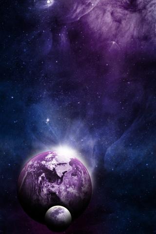 Невероятные и необычные картинки, фото луны на телефон на заставку 14