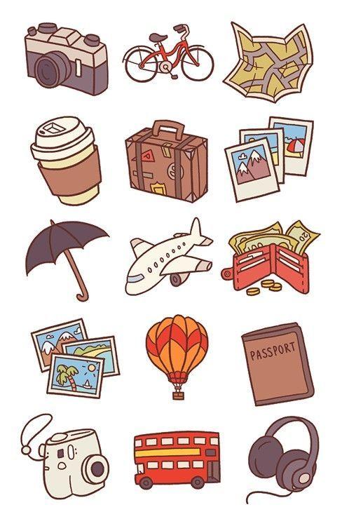 Няшные и милые картинки, рисунки для срисовки в личный дневник 10