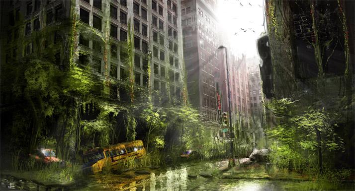 Очень красивые и завораживающие картинки Апокалипсиса - подборка 11