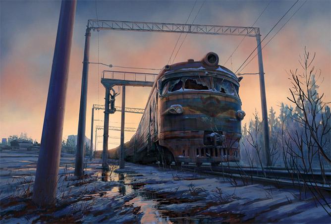 Очень красивые и завораживающие картинки Апокалипсиса - подборка 13