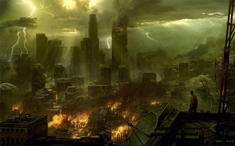 Очень красивые и завораживающие картинки Апокалипсиса - подборка 2