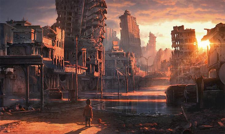 Очень красивые и завораживающие картинки Апокалипсиса - подборка 7
