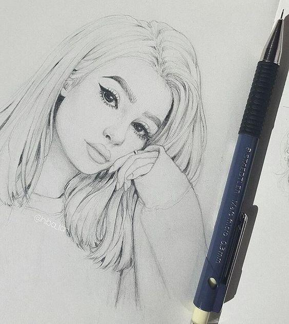 Очень милые и прикольные картинки для срисовки девочкам 15 лет 4