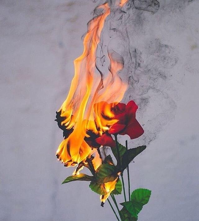 Прикольные и красивые картинки на аву огонь, пламя - подборка 2018 16