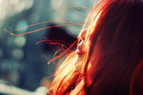 Прикольные фото и картинки рыжих девушек на аву - подборка 10