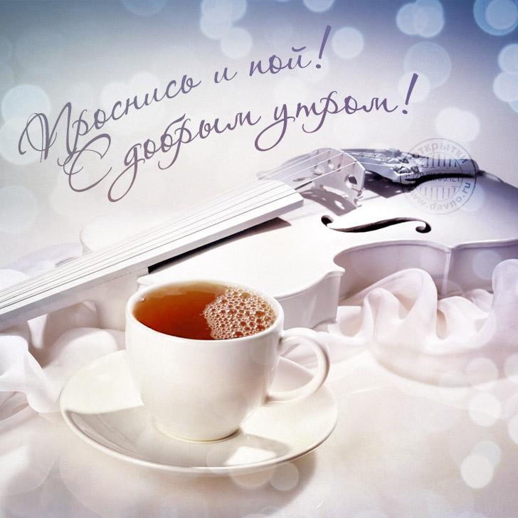Доброе утро солнышко - красивые картинки и открытки любимой девушке 12