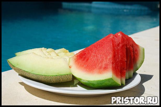 Как правильно выбрать арбуз и дыню для всей семьи - лучшие советы 1