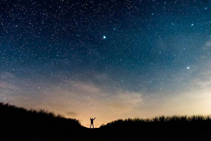 Классные картинки на аву звездное небо, яркие звезды - подборка 10
