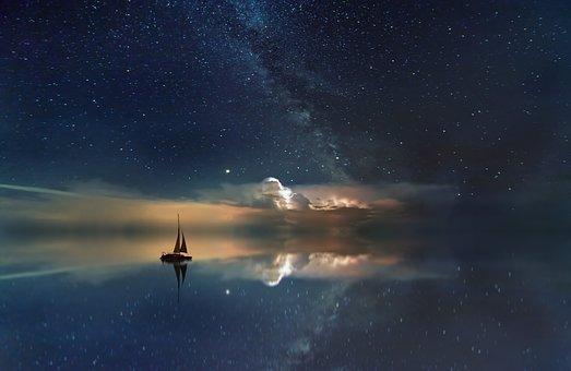 Классные картинки на аву звездное небо, яркие звезды - подборка 11