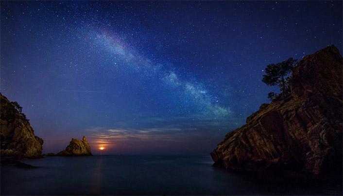 Классные картинки на аву звездное небо, яркие звезды - подборка 12