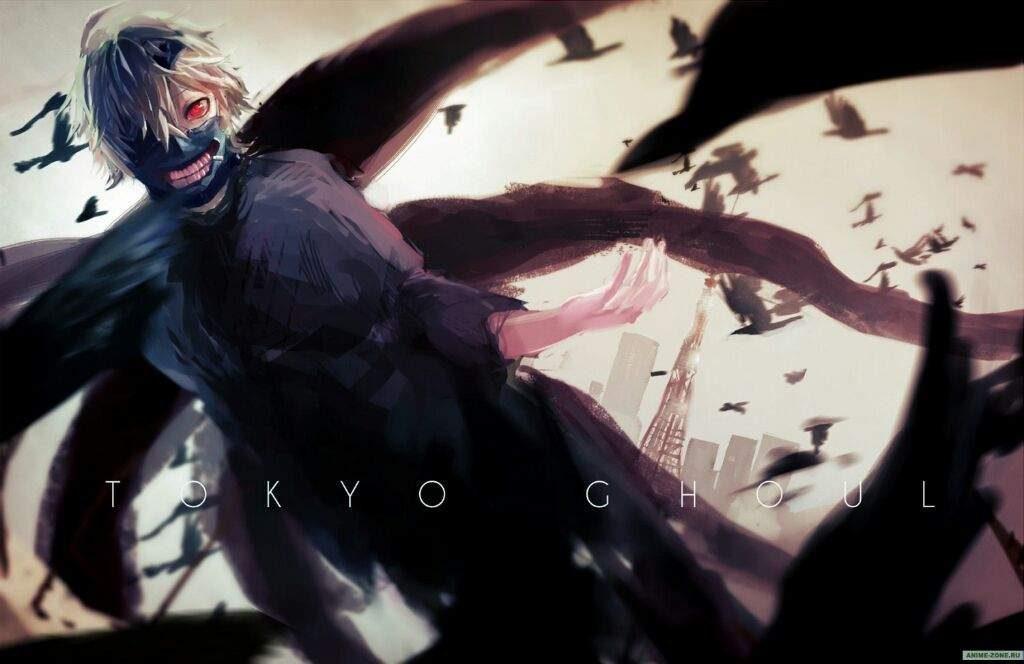 Красивые арты, картинки из Токийский Гуль аниме - самые крутые 9