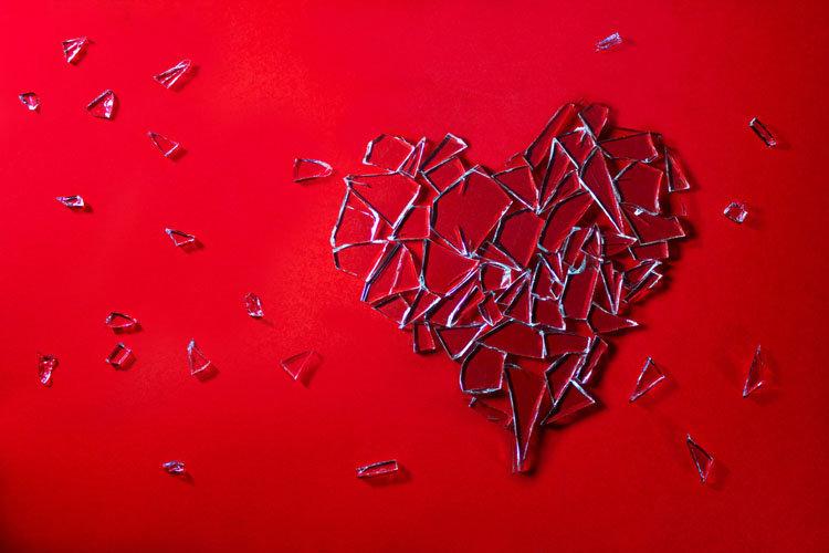 Красивые и интересные картинки со смыслом про разбитое сердце 15