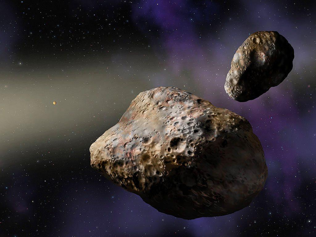 Красивые и необычные картинки, арты астероидов. Картинки Астероиды 12