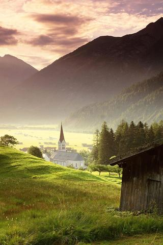 Красивые и необычные картинки пейзажи для заставки телефона 17