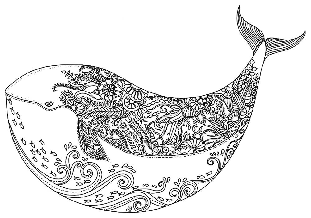 Красивые и прикольные картинки для срисовки Антистресс - сборка 7