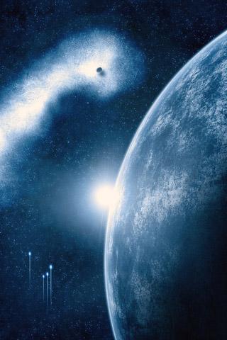 Красивые картинки космоса для заставки телефона - подборка 2018 14