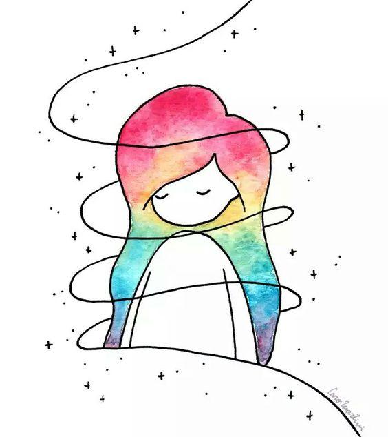 Лучшие легкие и необычные картинки срисовки для девочек - сборка 3