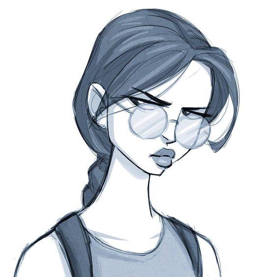 Лучшие легкие и необычные картинки срисовки для девочек - сборка 6