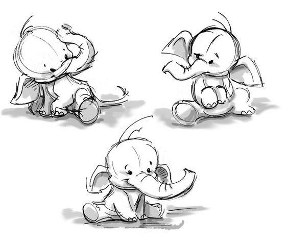 Необычные картинки для срисовки для детей и малышей - подборка 16