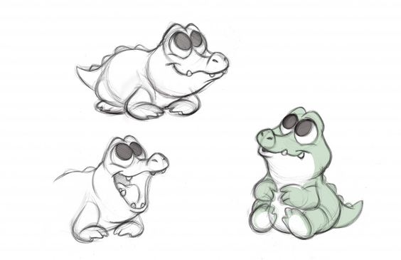 Необычные картинки для срисовки для детей и малышей - подборка 4
