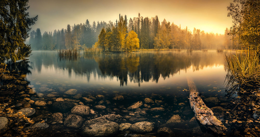 Осеннее утро, утро осенью - красивые и невероятные картинки 13