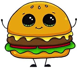 Прикольные и классные картинки для срисовки Еда с глазками - сборка 11