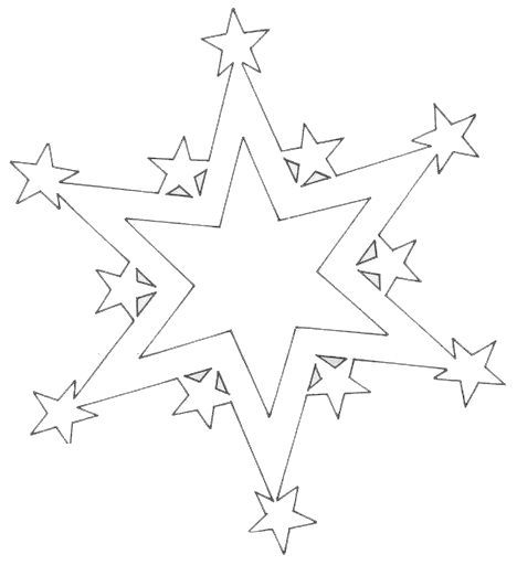 Прикольные и простые картинки для срисовки Звезда, Звезды - сборка 12