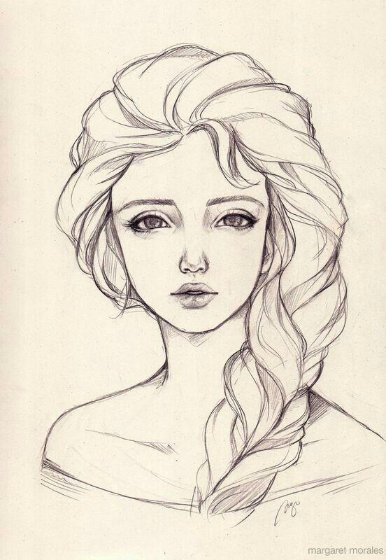 Самые прикольные и классные картинки для девочек для срисовки 1