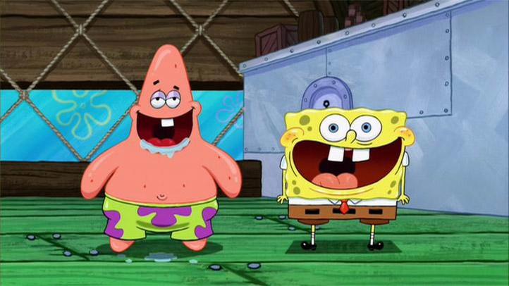 Смешные картинки про Губку Боба из мультфильма - подборка 3