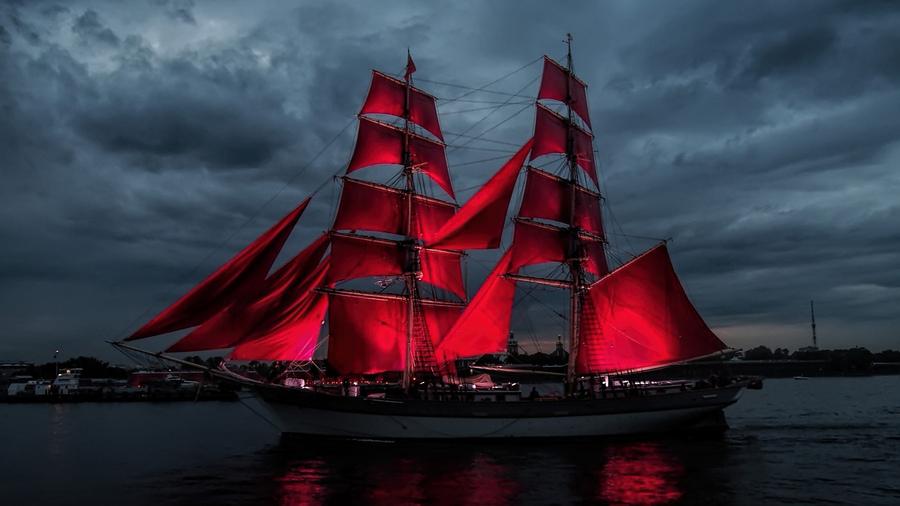 Удивительные и красивые картинки Алые Паруса - подборка изображений 8