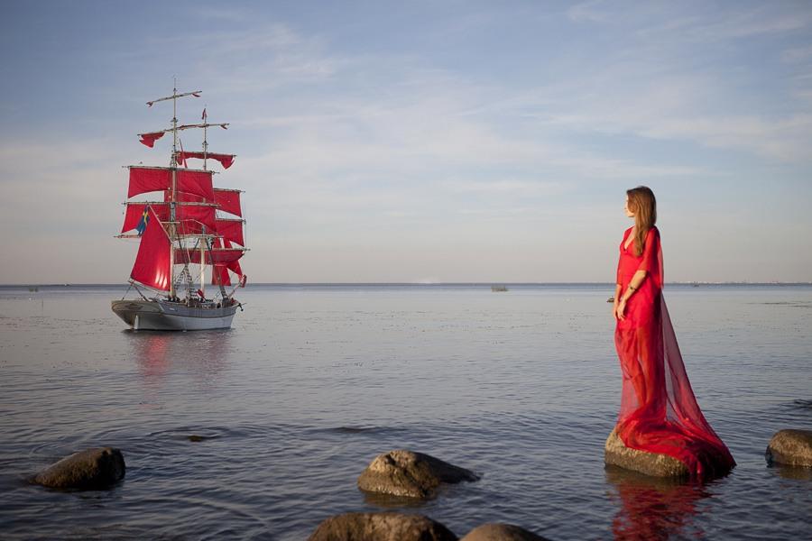 Удивительные и красивые картинки Алые Паруса - подборка изображений 9