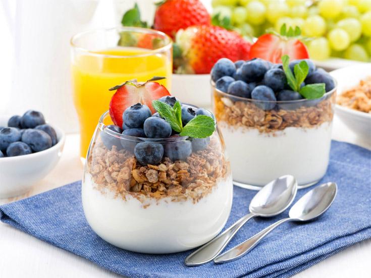 Завтрак очень красивые и аппетитные картинки, фотографии - сборка 13