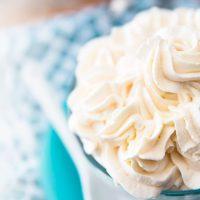 Как взбивать сливки с сахаром - пошаговый рецепт приготовления 1