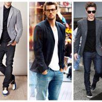 Как мужчинам грамотно сочетать джинсы и пиджак - советы, фото 3