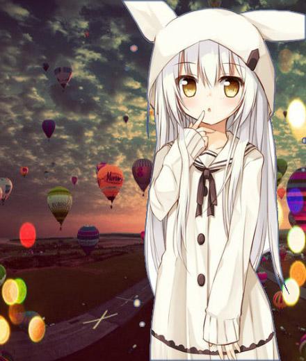 Классные аниме картинки на аву с ушками - прикольная подборка 16