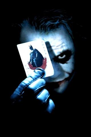 Классные и прикольные картинки на телефон Джокер - сборка 1