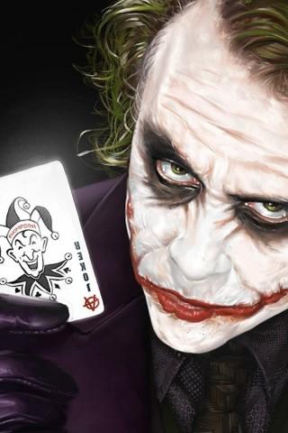 Классные и прикольные картинки на телефон Джокер - сборка 17